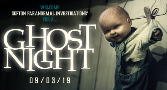 Ghost Night  – Saturday 9th March 2019